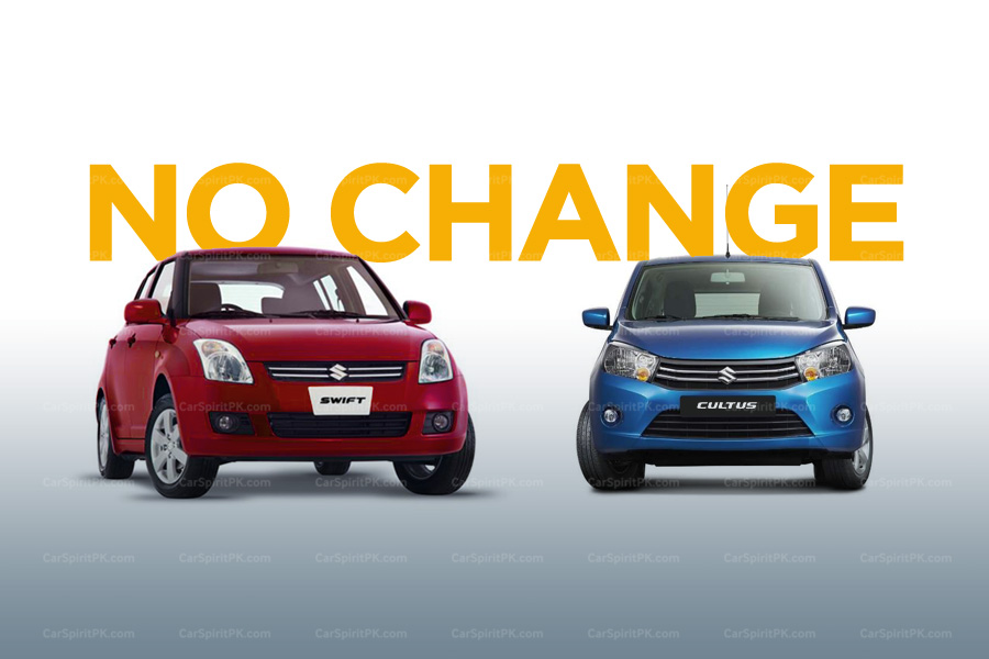 Prices of Suzuki Swift and Cultus VXL AGS Remain Unchanged 2