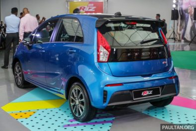 2019 Proton Iriz and Persona Facelifts Unveiled at Malaysia Autoshow 2