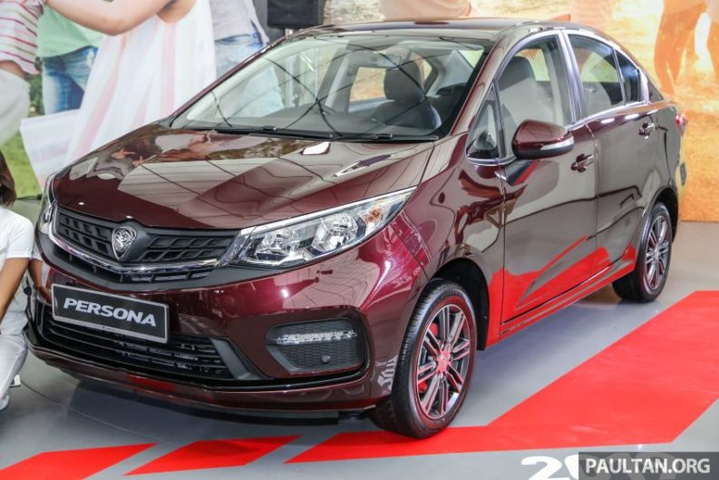 2019 Proton Iriz and Persona Facelifts Unveiled at Malaysia Autoshow 6