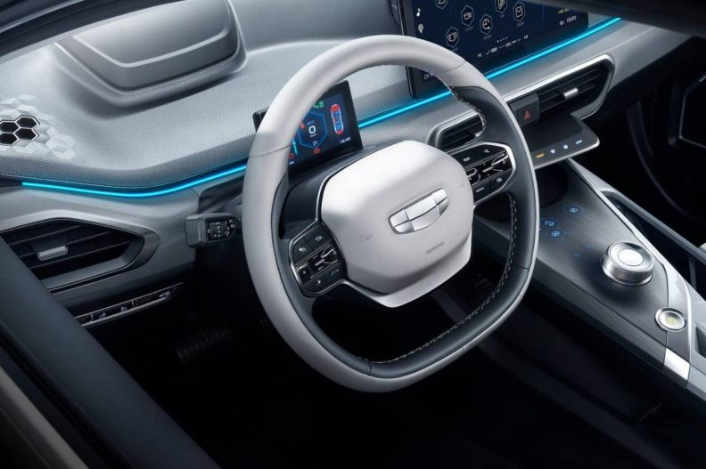 Geely Launches New EV Brand 'Geometry' to Take on Tesla 4