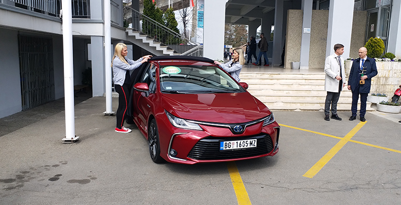 Toyota Corolla 1.8 Hybrid Wins 2019 ECO Car Award in Serbia 10