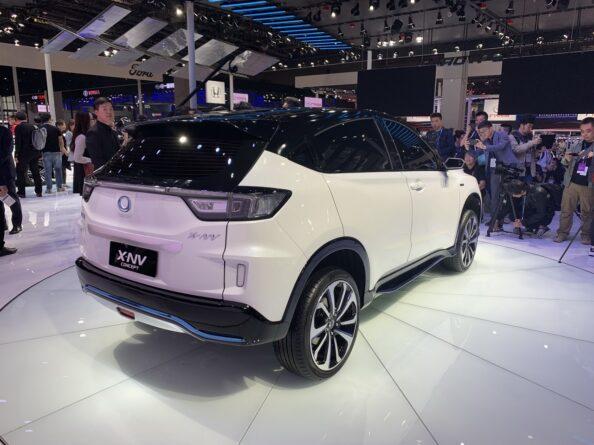 Honda Exhibits the X-NV Concept at 2019 Auto Shanghai 8