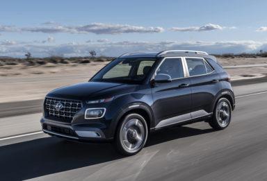 Hyundai Unveils Its Smallest Venue Crossover 20