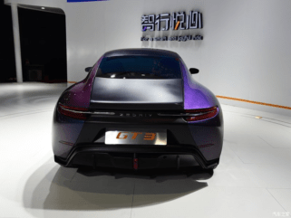 Zedriv GT3- The Porsche 911 Inspired EV from China 4