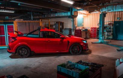 Honda Civic Type R 'Project P' Pickup Truck 3