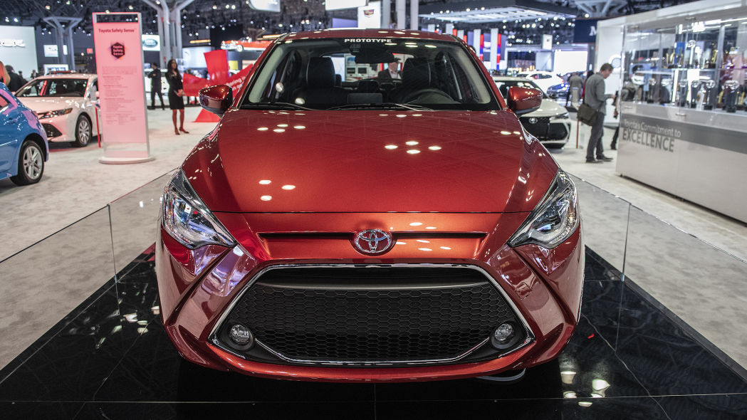 Next Generation Toyota Yaris Debuts at NYAS 2019 1