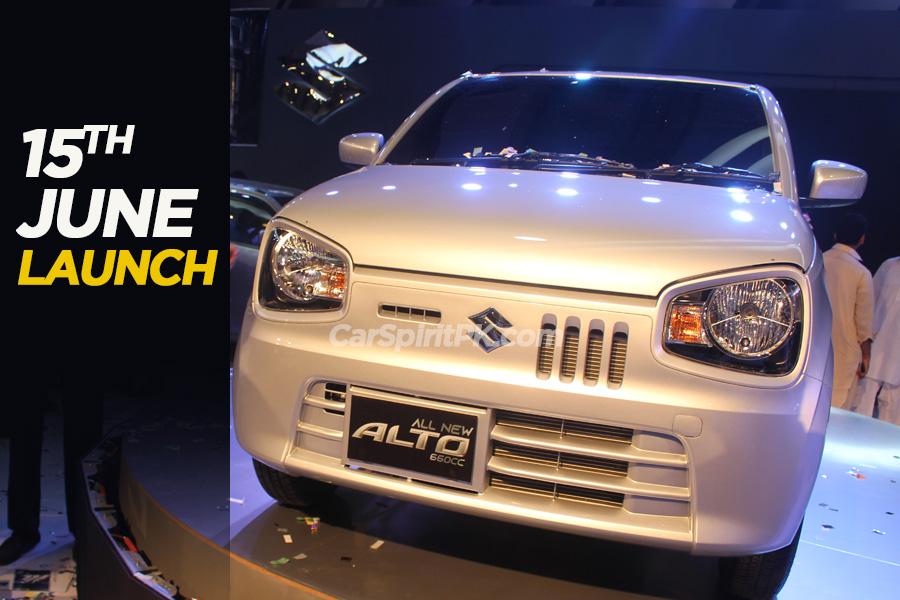 Pak Suzuki to Launch Alto 660cc on 15th June 2