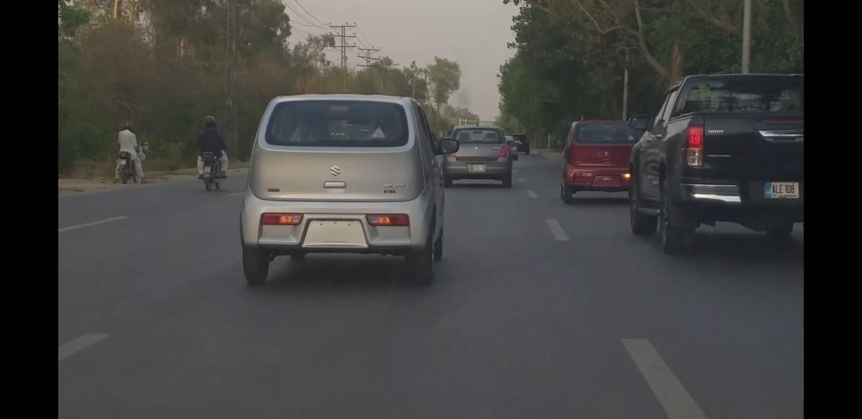 Pak Suzuki Alto 660cc Spotted on Roads 3