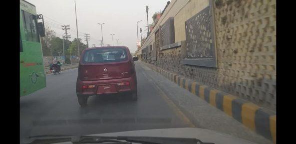 Pak Suzuki Alto 660cc Spotted on Roads 7