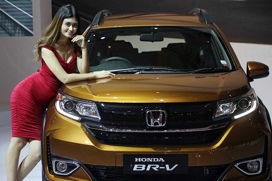 Honda BR-V Facelift at IIMS 2019 2