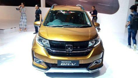 Honda BR-V Facelift at IIMS 2019 8