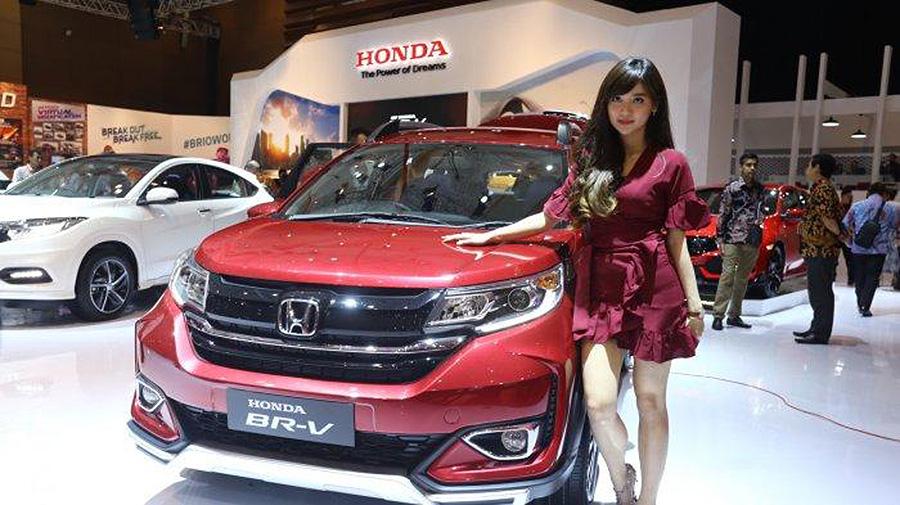 Honda BR-V Facelift at IIMS 2019 15