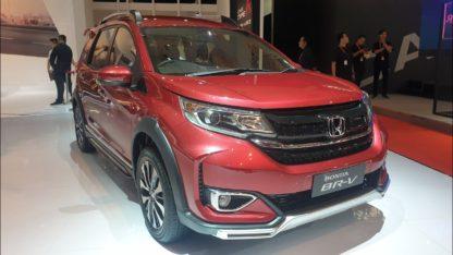 Honda BR-V Facelift at IIMS 2019 11