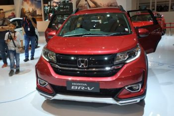 Honda BR-V Facelift at IIMS 2019 12