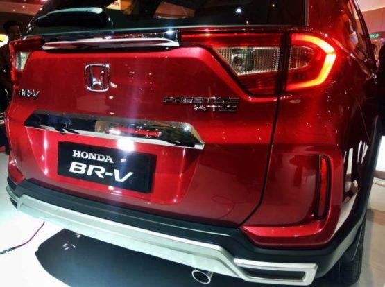 Honda BR-V Facelift at IIMS 2019 14