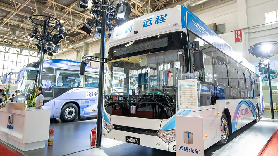 Geely Unveils Hydrogen Fuel Cell Bus 1