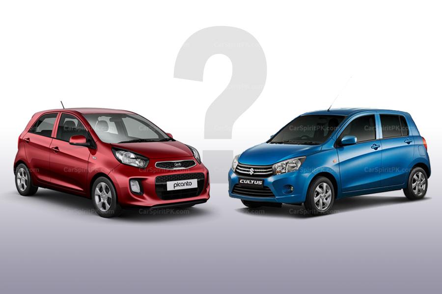 How Kia Picanto Stacks Up Against Suzuki Cultus 8