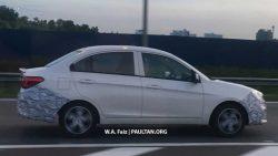 Proton Saga Facelift Spotted Testing in Malaysia 2