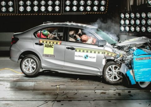 Honda Amaze Scores 4-star Global NCAP Safety Rating 1