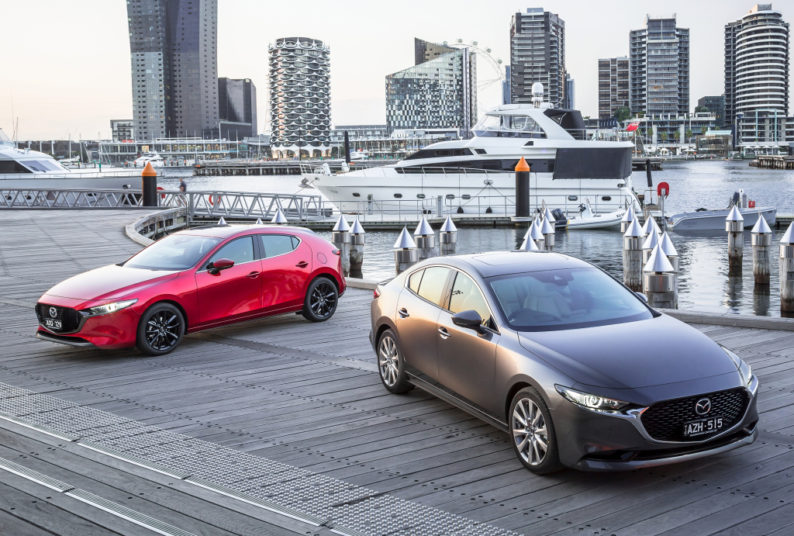All New Mazda 3 Launched in Japan 1