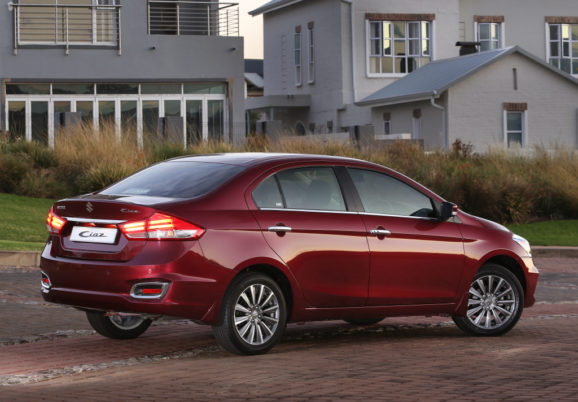 Suzuki Ciaz Facelift Launched in South Africa 2