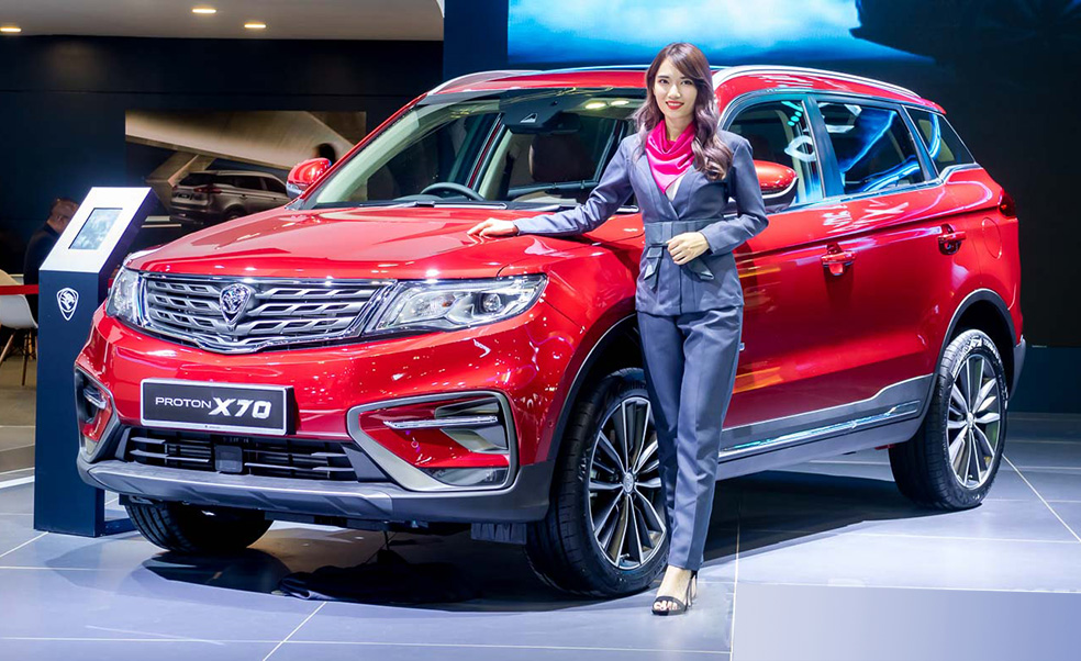 Proton X70 to be Assembled in Malaysia by H2, 2019 2