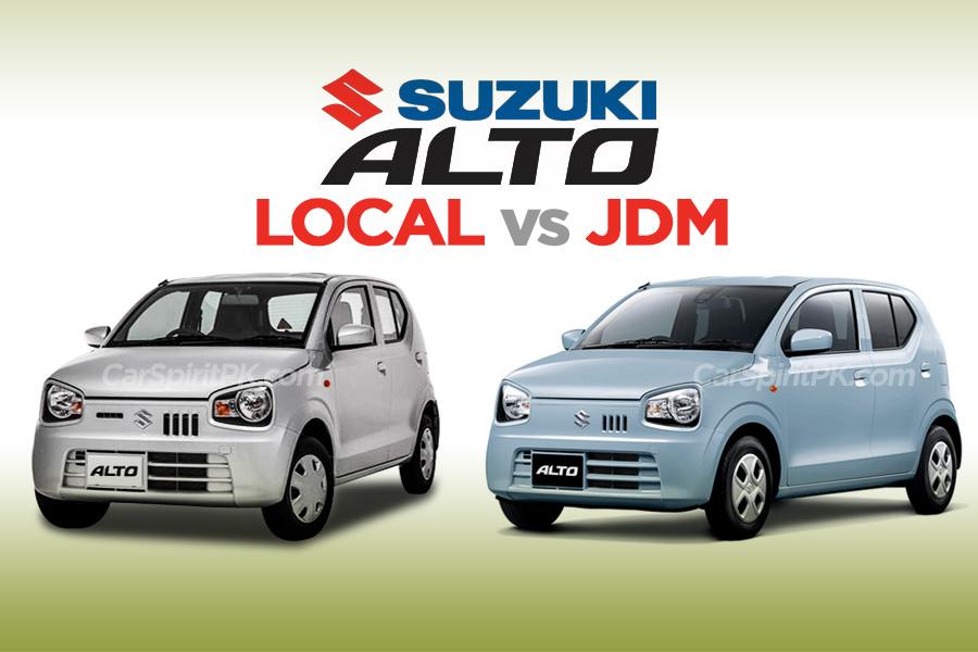 JDM Alto vs Pak Suzuki Alto 660cc 9