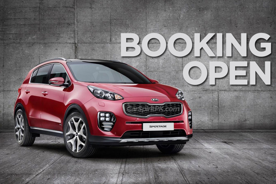 Kia Sportage: Booking Open 9