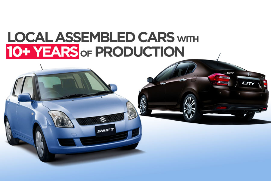 Cars with 10+ Years of Production in Pakistan 10