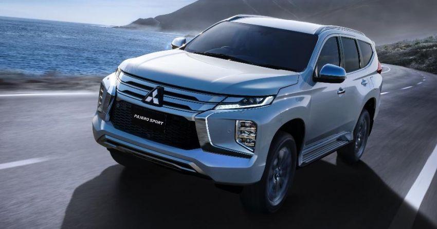 2019 Mitsubishi Pajero Sport Debuts in Thailand 2