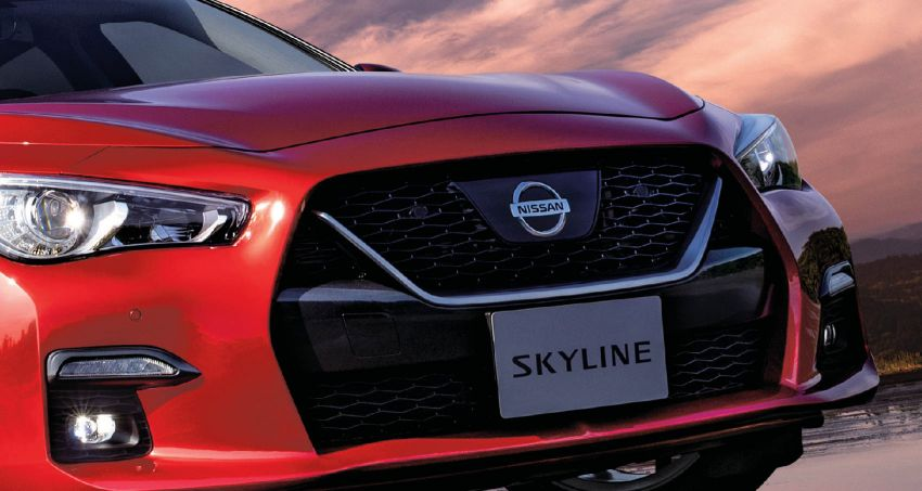 Nissan Launches 2019 Skyline Hybrid with ProPilot 2.0 2