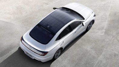 2020 Hyundai Sonata Hybrid Debuts with Solar Roof 3