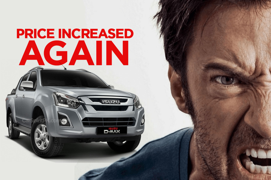 Another Increase in Isuzu D-MAX Prices 8