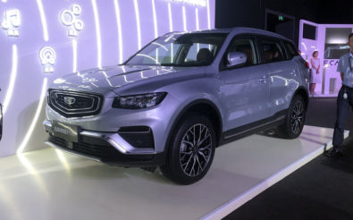 Geely Boyue Pro Debuts in China 1