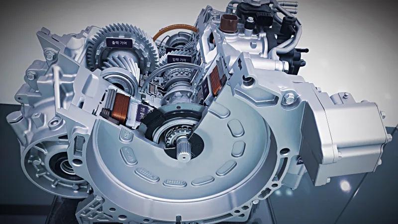 Hyundai Reveals New Hybrid Transmission 1