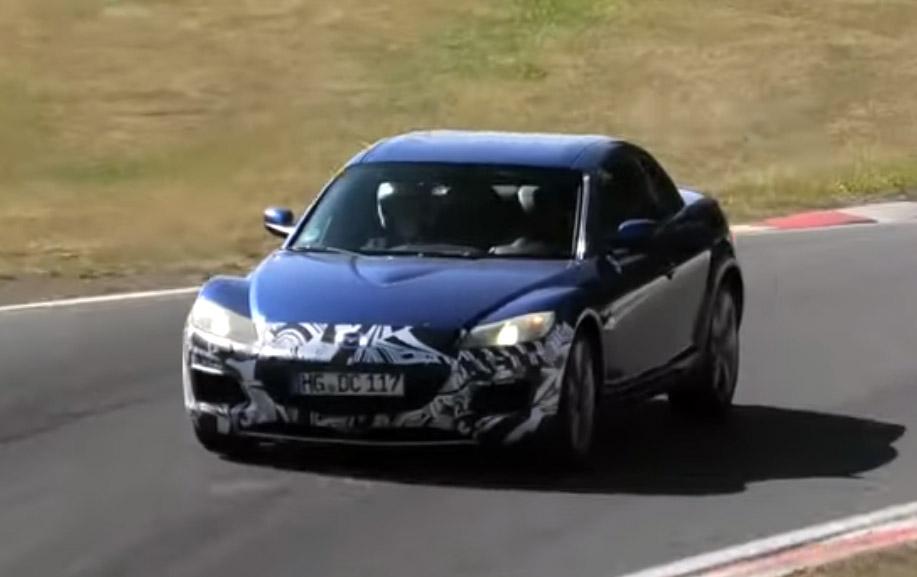 Mazda Testing the RX-8 at Nürburgring 1