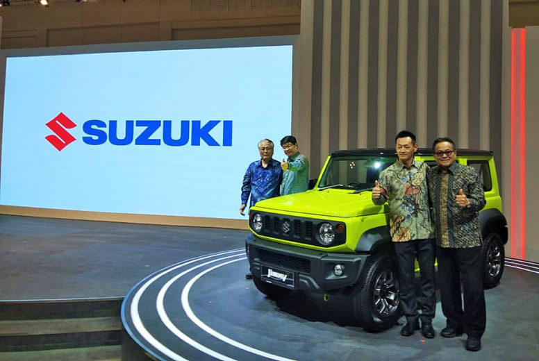 Suzuki Launched New Jimny in Indonesia at GIIAS 2019 2