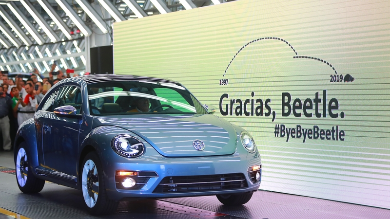 Volkswagen Marks End of an Era with Production of the Last VW Beetle 9