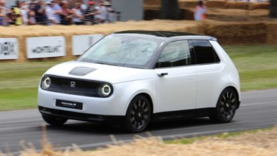 Honda E Appears at Goodwood Hill- More Details Available 8
