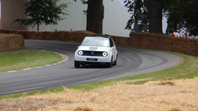 Honda E Appears at Goodwood Hill- More Details Available 6