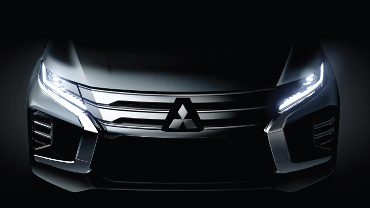 Mitsubishi Teases the New Pajero Sport 4