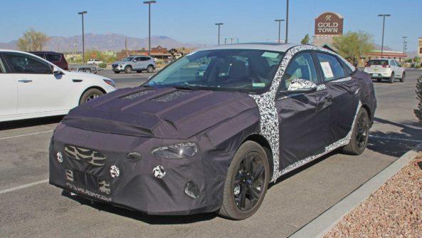 Next-Gen Hyundai Elantra Spied For the First Time 5