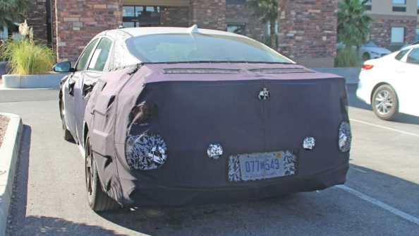 Next-Gen Hyundai Elantra Spied For the First Time 4