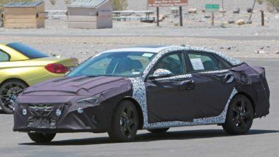 Next-Gen Hyundai Elantra Spied For the First Time 2