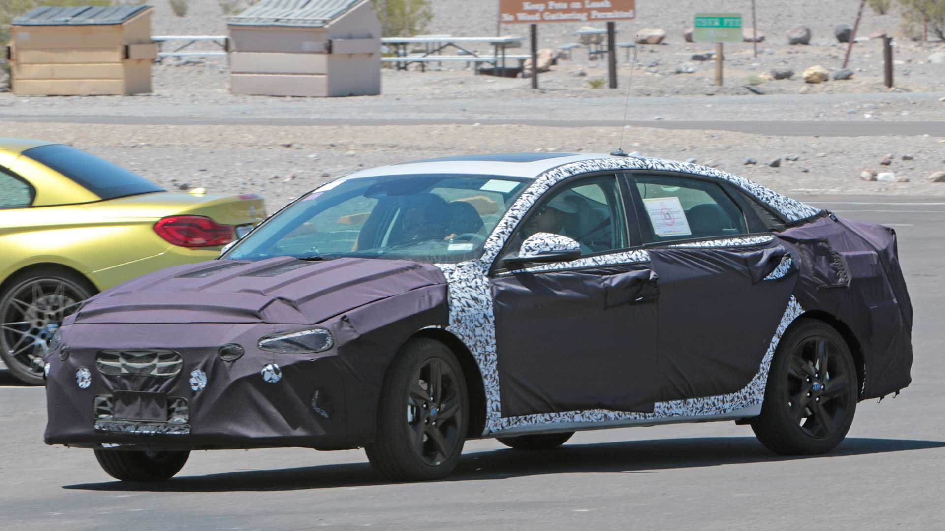 Next-Gen Hyundai Elantra Spied For the First Time 1