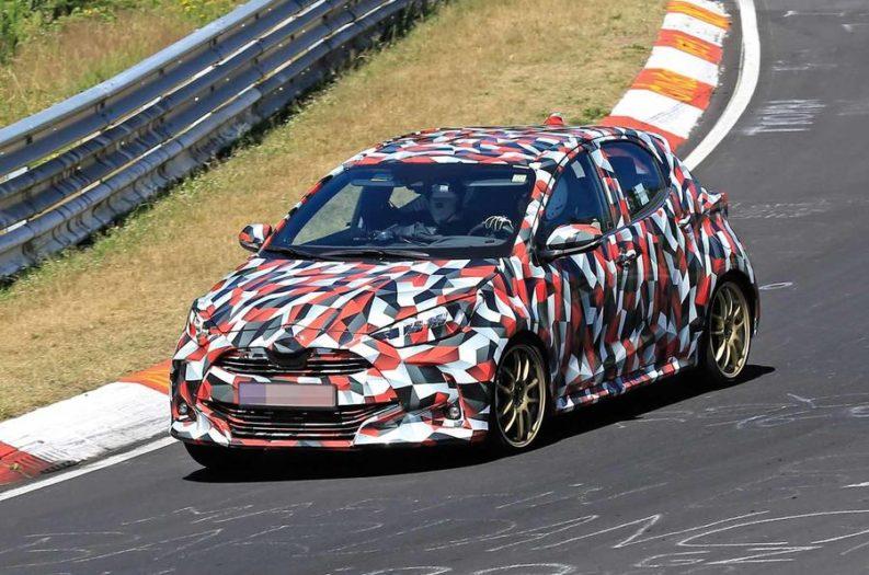 2020 Toyota Yaris Hatchback Spotted Testing 8