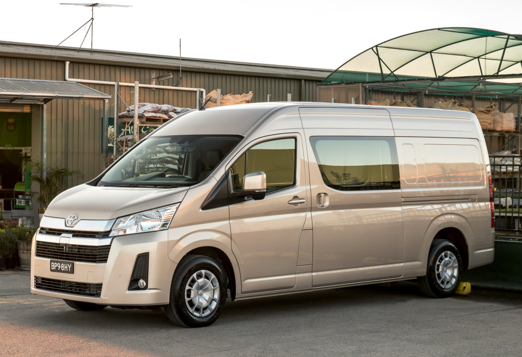 Is IMC Teasing All New Toyota HiAce? 1