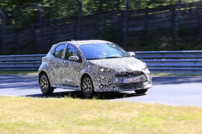 2020 Toyota Yaris Hatchback Spotted Testing 5