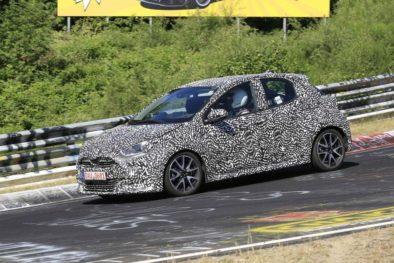 2020 Toyota Yaris Hatchback Spotted Testing 2