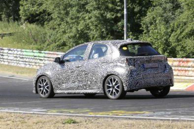 2020 Toyota Yaris Hatchback Spotted Testing 3
